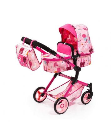Bayer Cosatto City Vario Dolls Pram - Unicorn Land