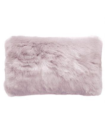 Faux Fur Cushion Lilac 50x30