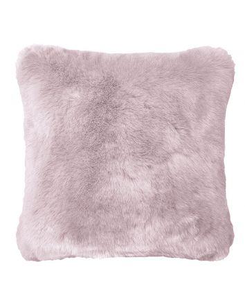 Faux Fur Cushion Lilac 50x50