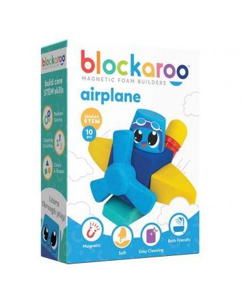 Blockaroo Magnetic Foam Blocks Plane