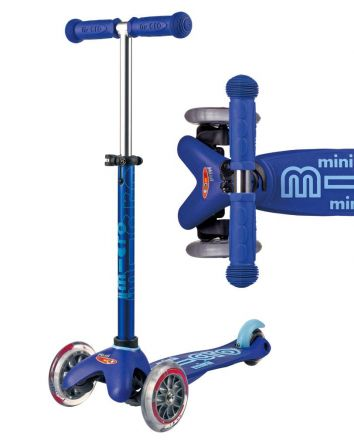 Mini Micro Deluxe Scooter -Blue