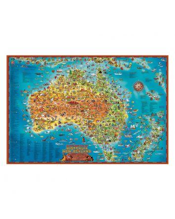 Blue Opal Down Under Giant Puzzle 300pc