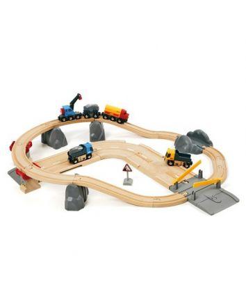 Brio Rail & Road Quarry Loading Set