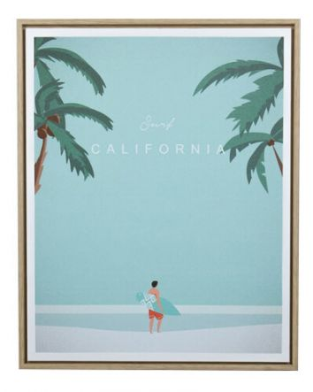 California Calling Canvas