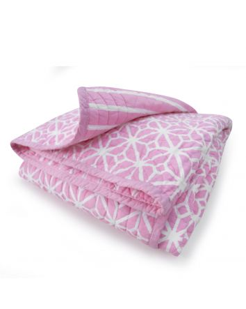 Cocalo Cot Coverlet Pink