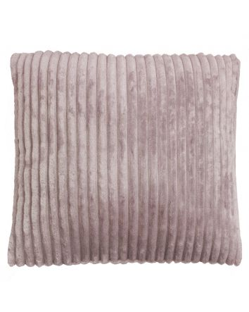 Channel Cushion- Rosewater