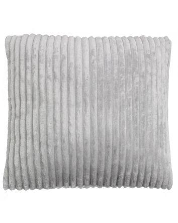Channel Cushion- Silver