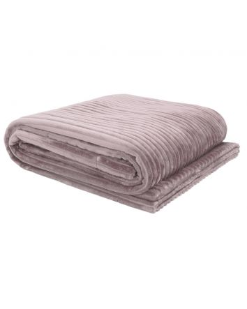 Channel Throw - Rosewater 130x150