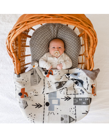 Connor Cars Baby Blanket