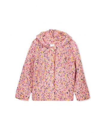 Milky Pink Fleck Jacket
