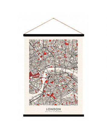 Hanging Scroll- London 65cm x 92cm