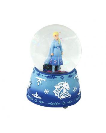 Frozen 2 Elsa Musical Snowglobe