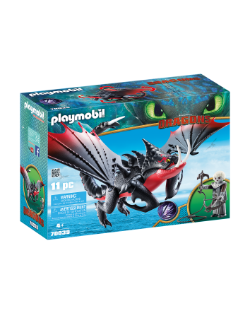 Deathgripper with Grimmel- Playmobil Dragons