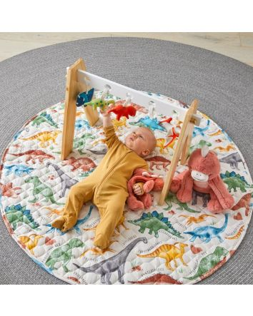Jiggle & Giggle PREHISTORIC QUILTED PLAYMAT