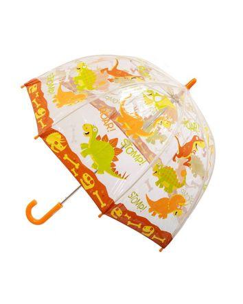 Kids PVC Birdcage Umbrella Dinosaur