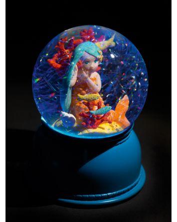 Djeco Globe Night Light Mermaid