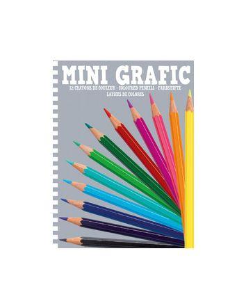 Djeco Mini Grafic 12 Colouring Pencils
