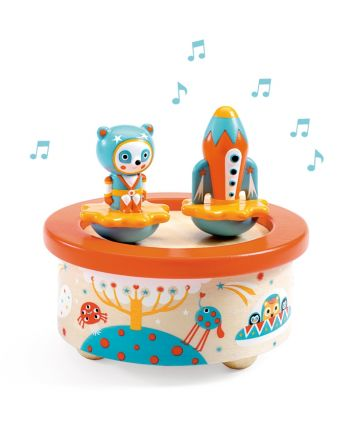 Djeco Space Melody Magnetics Music Box