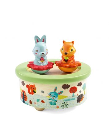 Djeco Friends Melody Magnetics Music Box