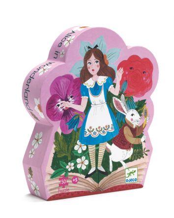 Alice in Wonderland Silhouette Puzzle - 50pcs