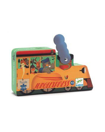 The Locomotive Puzzle - 16pc