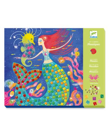 Djeco The Mermaid's Song Mosaic Kit