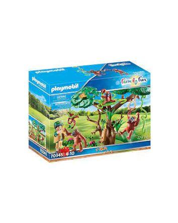 Playmobil Orangutans With Tree