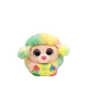 TY Puffies Rainbow Poodle