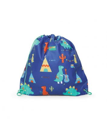 Penny Scallan Dino Rock Drawstring Bag