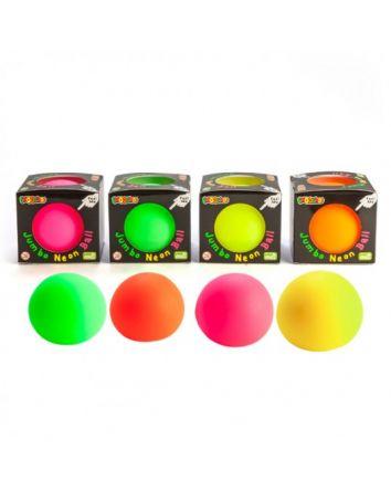 Jumbo Smooshos Ball Neon