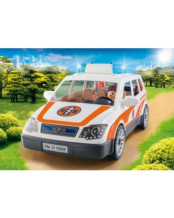 Playmobil Emergency Car with Sirens