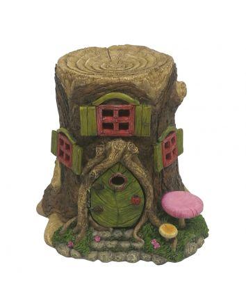 Tree Stump House w/ Opening Door