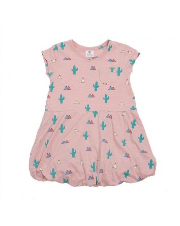 Up and Away Dress- Pink