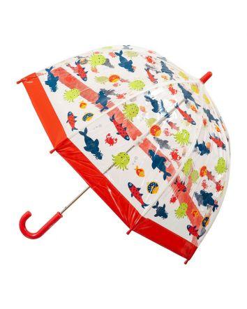 Kids PVC Birdcage Umbrella Fish