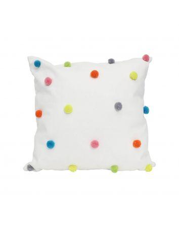 Pom Pom Cushion 45x45