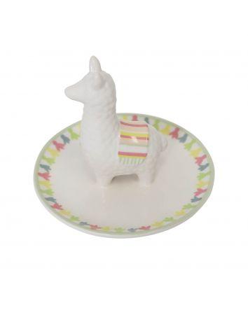 Llama Trinket Plate