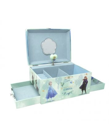 Pink Poppy Frozen 2 Musical Jewellery Box Deluxe
