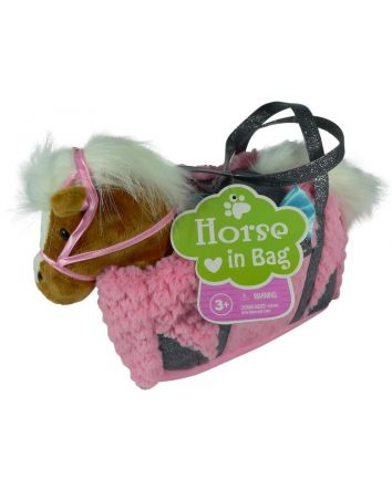 Pony/Unicorn In Carry Bag Asst