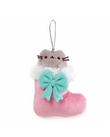 Pusheen Stocking- Hanging Ornament