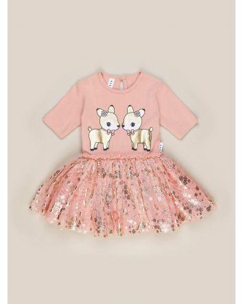 HUXBABY Oh Deer Ballet Dress