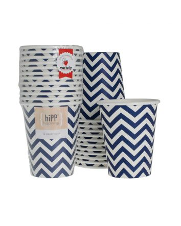 Navy Party Cups