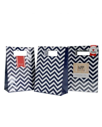 Navy Party Bags