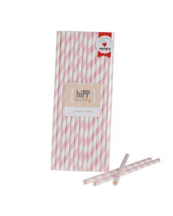 straws pink