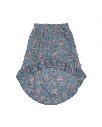 Midi Skirt- Corn Flower