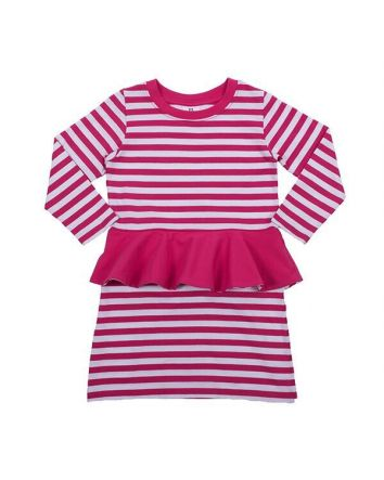 HootKid Cassie Peplum Dress