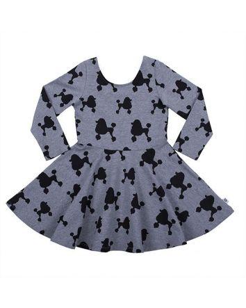 HootKid Cassandra Poodle Dress