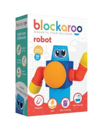 Blockaroo Magnetic Foam Blocks Robot Set