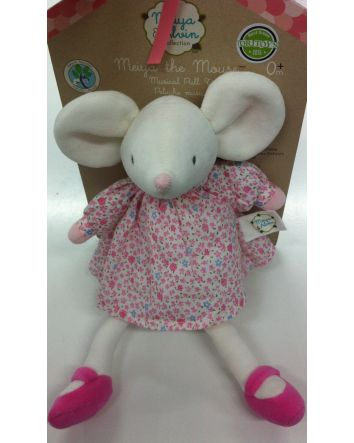 Meiya the Mouse Lullaby Pull Toy