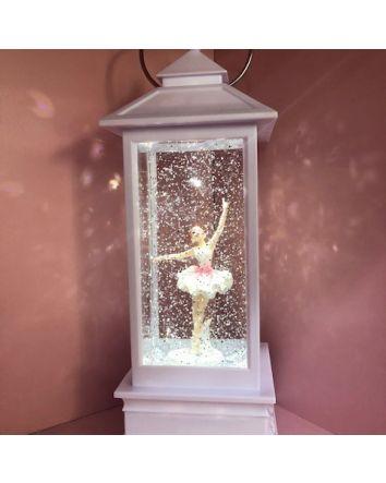 White Ballerina Lantern