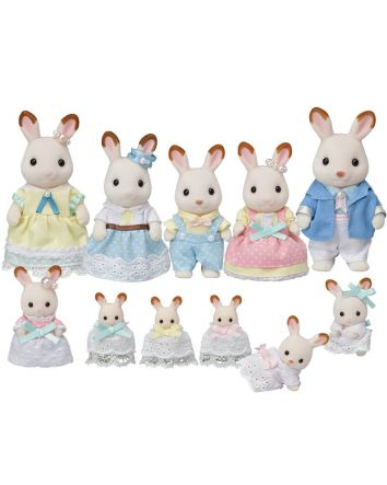 Sylvanian Families Chocolate Rabbit Celebration Set
